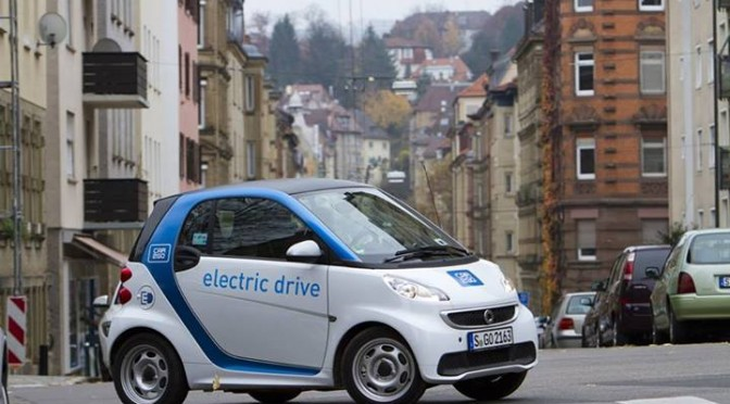 You can join the WAVE Electric Parade in a CAR2GO