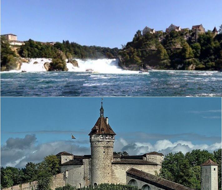 Rheinfall&Munot