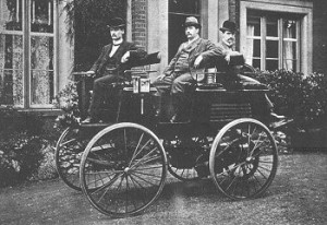 Thomas Parker's Electric car 1880s